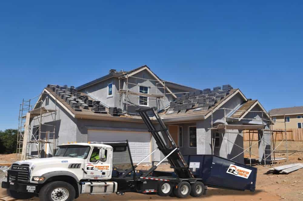Dumpster For Roofers